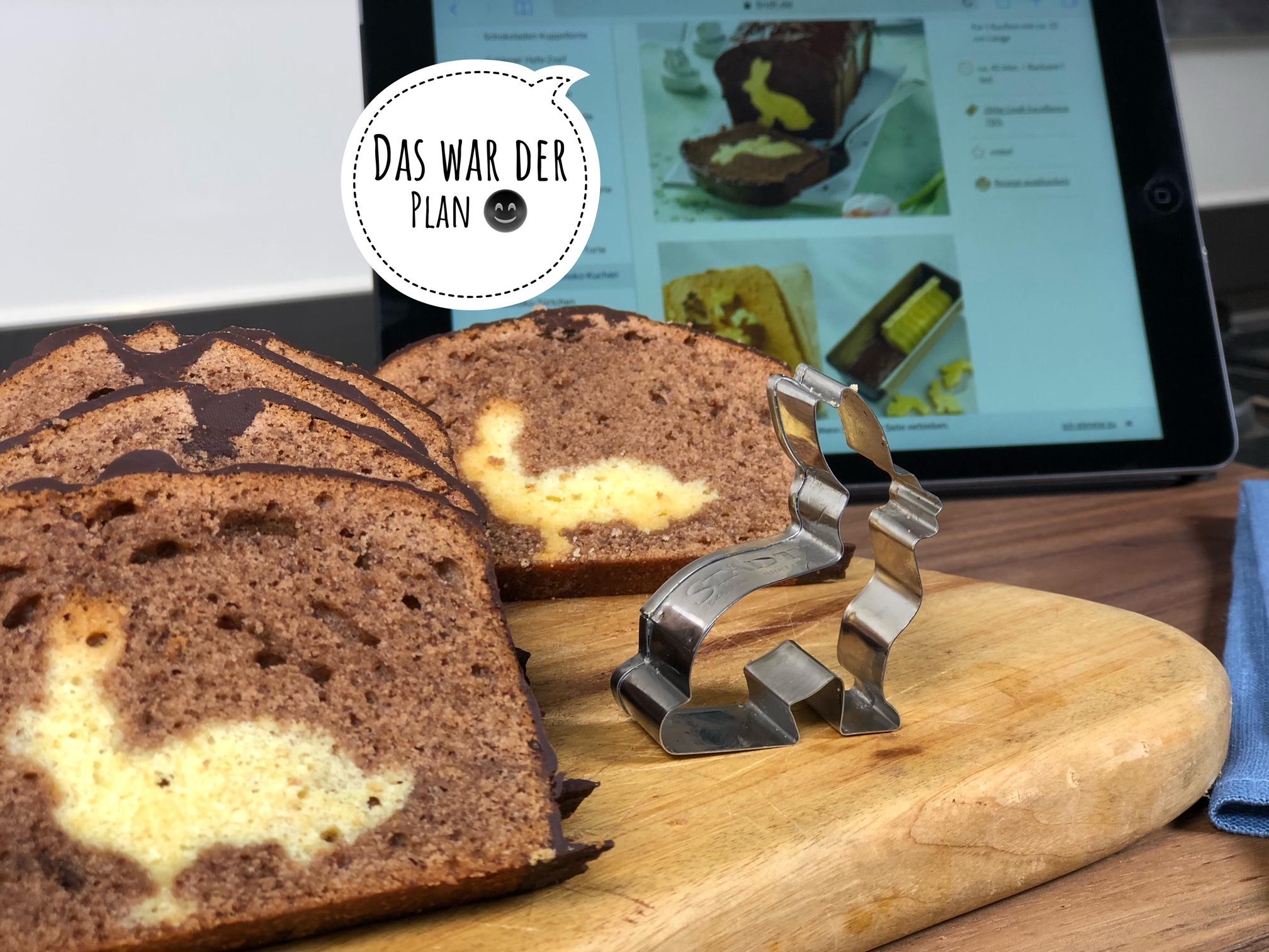Osterhasen-Schoko-Kuchen von Johann Lafer