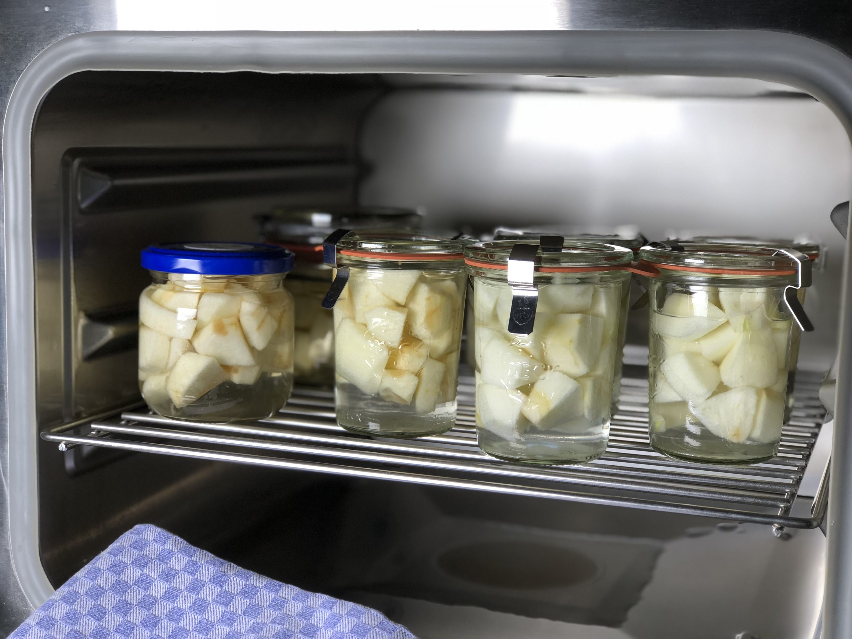 Einkochen im Dampfgarer - torta-carotta.de