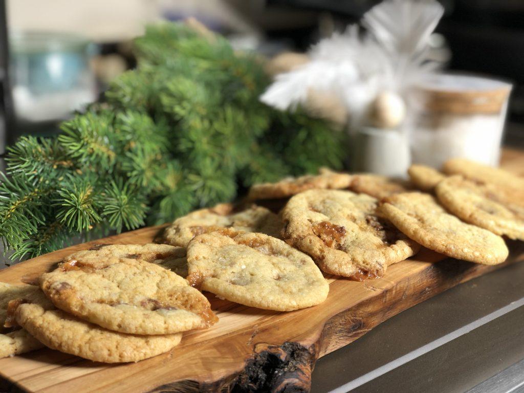 Salzige Caramel-Cookies
