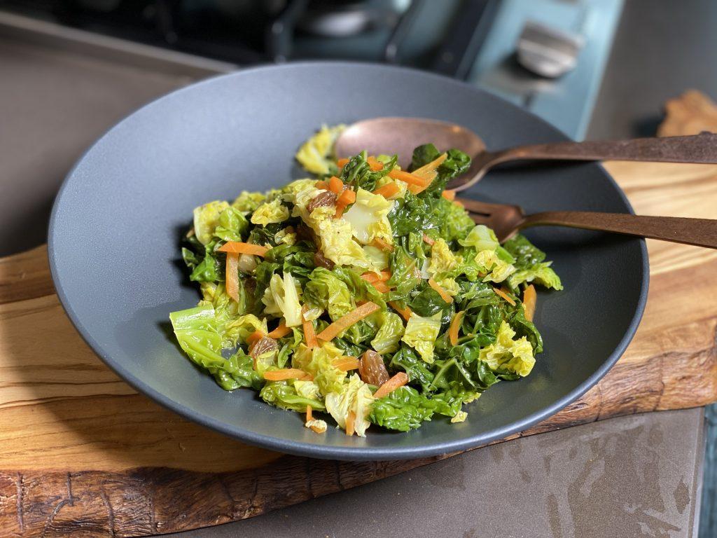 Wirsing-Gemüse ayurvedisch